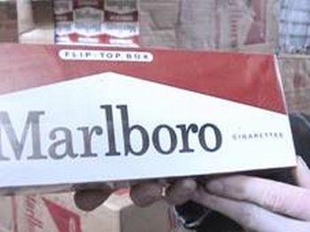 У жителя Ирландии нашли контрабандные сигареты