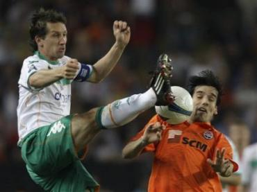 Кубок УЕФА : Шахтёр выиграл у Вердер - 2:1