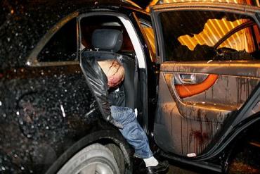 Киллер расстрелял «вора в законе» Андрея Голубева (Скиф)