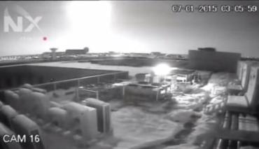 В ночь на 7 января в небе над румынской столицей Бухарестом взорвался метеорит