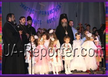 Різдвяна ніч у воскресній школі Порошково на Закарпатті