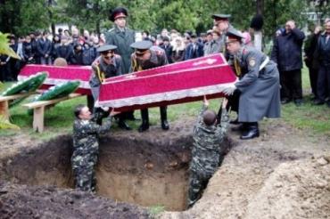 В Раховском районе торжественно перезахоронили 16 солдат