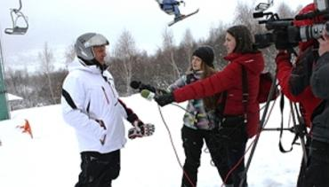 """Горно-лыжный курорт """"Красия"""" ждет любителей лыж"""