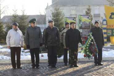 26-ую годовщину вывода советских войск из Афганистана отметили в городе Мукачево