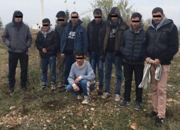 В Берегово задержали нелегальных мигрантов из Афганистана