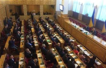 В зале заседаний присутствуют 61 депутат, - сессия полномочна