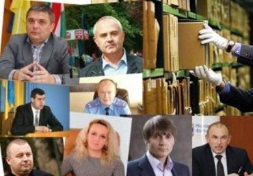 В Закарпатье чиновников меняют как перчатки: белые на черные
