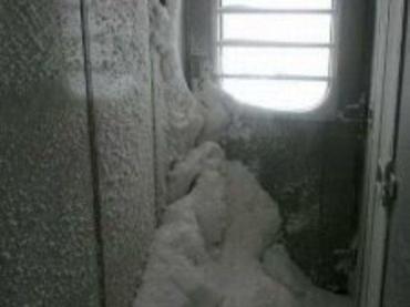 Градусник в вагоне Киев-Ужгород показывал от 7 до 10 градусов мороза