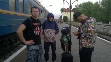 Сегодняшнее шоу Александра Ярмака – уже второе в Ужгороде