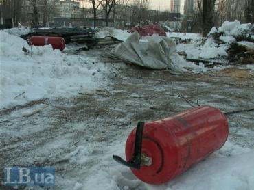 Причины пожара в Киеве, а также личность погибшей устанавливают эксперты