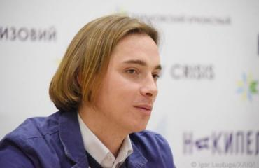 Андрей Любка посетил Харьков с презентацией своего романа «Карбид»