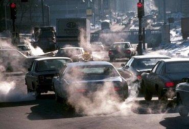 В Ужгороде вымокая концентрация загрязнения воздуха