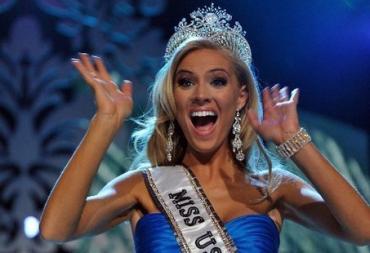 """Конкурс красоты """"Мисс США"""" выиграла Кристен Далтон (Kristen Dalton)"""