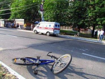 """У Хусті """"Жигуль"""" збив велосипедиста."""