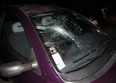 Вночі на Мукачівщині кандидату в депутати розбили машину.