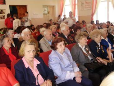 В школе № 5 Ужгорода прошла встреча с ветеранами войны