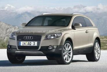 Новый кроссовер Audi вышел в свет