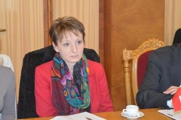 Державний секретар Міністерства людських ресурсів Угорщини Юдіта Бертолон.