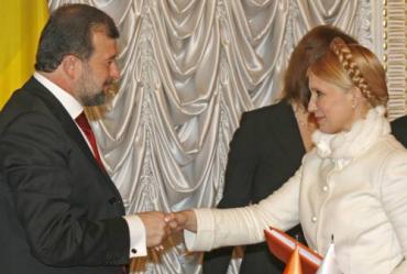 Тимошенко ищет поддержки у Балоги?