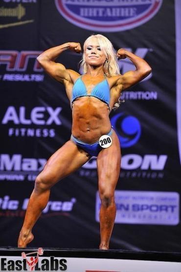 Закарпатка Мілена Молнар - фіналістка Чемпіонату світу з фітнесу та бодіфітнесу