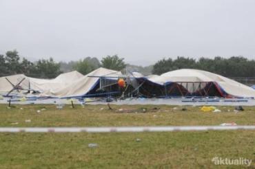 На концерте в Словакии рухнул подиум: 1 человек погиб