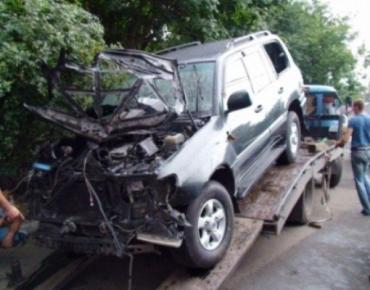 Очередной взрыв автомобиля в Одессе