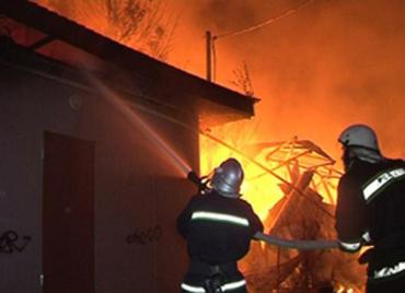 МНС Закарпаття повідомляє про пожежу...