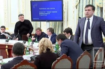 Арсен Аваков назвав Саакашвілі політичним артистом.