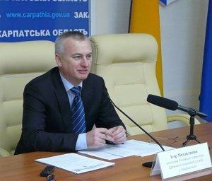 Начальник ГУДМС Игор Михайлишин