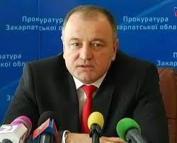Прокурор Закарпатської області Володимир Янко.