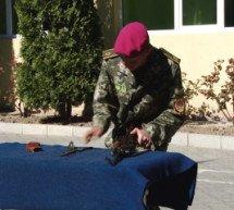 У військовому ліцеї Мукачева згадали майдан і бійців, які загинули в АТО.