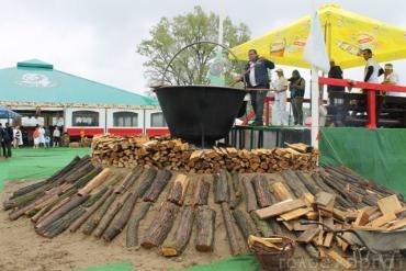 У Косино зареєстрували офіційний рекорд України — зварено 2500 літрів бограчу.