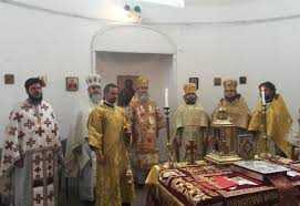 Архієпископ Феодор звершив богослужіння в Токаї