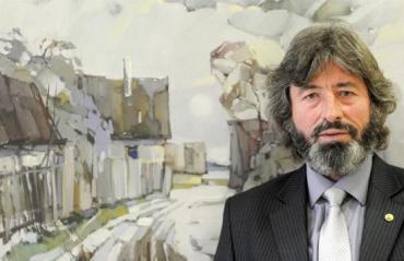 Ласло МАДЯР, голова Товариства угорських художників Закарпаття імені Імре Ревеса