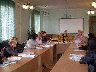 Навчальний захід у Мукачівському міському центрі зайнятості.