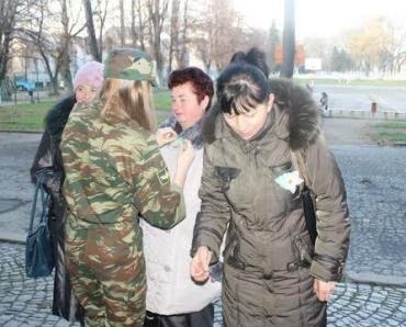 В Ужгороді відбулася зустріч солдатських матерів і дружин.