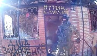 Відео у Фейсбуці розмістив боєць Правого сектора росіянин Ілля Богданов.