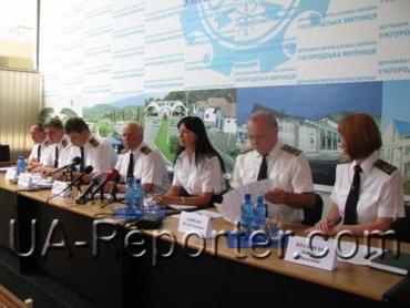Пресс-конференция в Ужгородской таможне