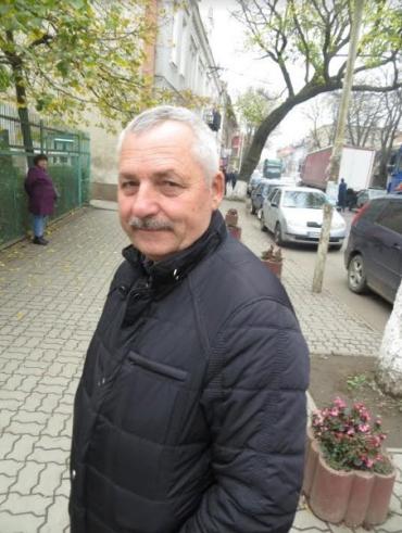 Ветеран ОВС Закарпаття Михайло Танчинець із Берегова.