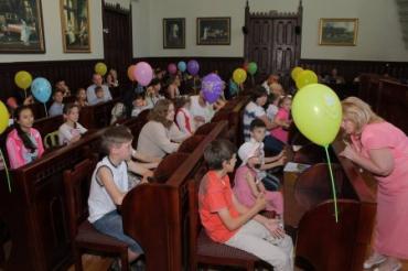Подарунки для дітей-сиріт закарпатського Мукачева