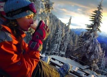 Українці приїхали в Татри покататись на лижах та попити чай