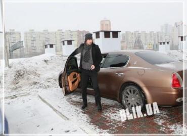 Артем Милевский не меняет роскошный Maserati на другое авто
