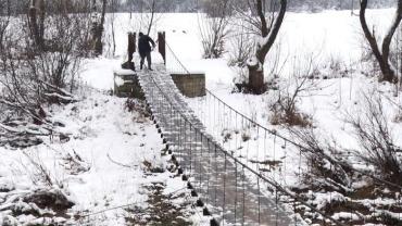 Зведення дерев'яних мостів – данина традиції на Міжгірщині