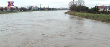 Мукачево. Підняття рівня води у Латориці