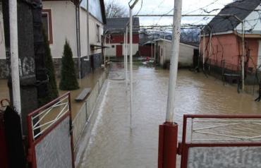 Постраждале від великої води село Вільхівка на Іршавщині