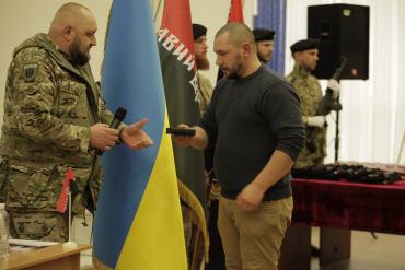 """В Україні з'явилася нова політпартія — """"Правий сектор"""""""