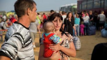 В РФ упрощенно оформляют вид на жительство беженцам с Украины