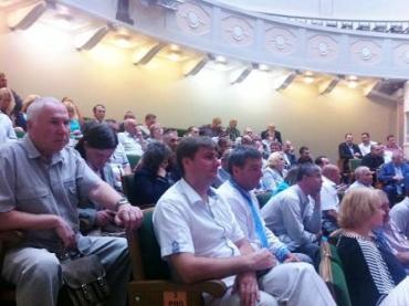 В Київі відбувся ІІ етап IX з'їзду партії «Справедливість»