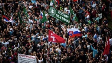 70% граждан Словакии не согласны с приемом беженцев