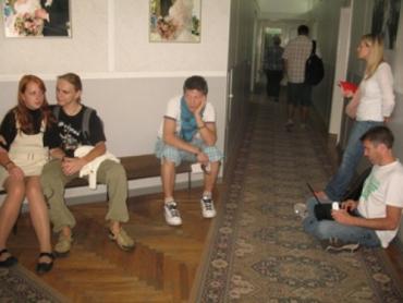 Очередь в загсе Киева, чтобы подать заявления на 09.09.09